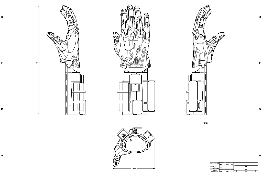 Design Of An Assistive Upper Limb
